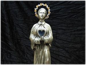 Statua di Santa Gemma Galgani