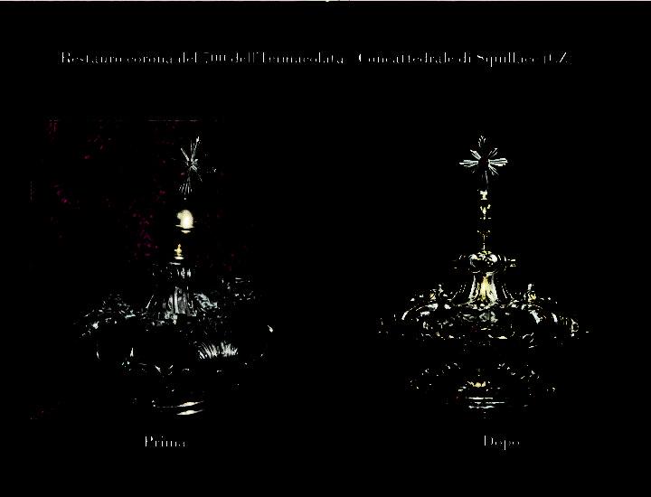 Restauro delle Corone della B.V. Immacolata della Cattedrale di Squillace