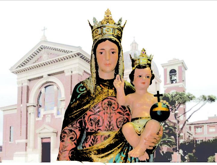 Corone realizzate per la Statua della Madonna Regina Pacis della Cattedrale di Ostia