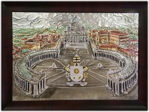 Stemma Papale realizzato per Sua Santità Francesco
