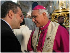 Creazione per Sua Ecc.za Mons. Vincenzo Bertolone