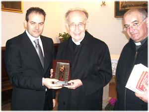 Icona realizzata per Sua Em.za Cardinale Camillo Ruini