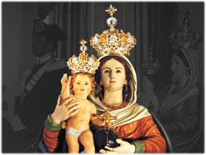 Restauro delle antiche Corone della Madonna di Manipuglia in Crucoli
