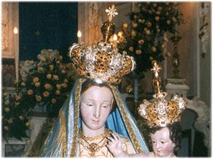 Restauro delle corone della Madonna Delle Grazie di Torre di Ruggiero (CZ)