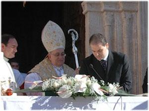 Insediamento di Sua Ecc.za Mons. Domenico Graziani a Santa Severina