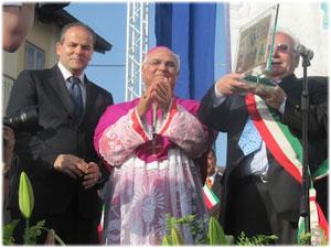 Insediamento di Sua Ecc.za Mons. Vincenzo Bertolone nella città di Squillace