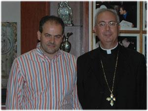 Visita di Sua Ecc.za Mons. Dominique Mamberti Segretario della Santa Sede