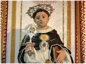 Reliquiario realizzato per la Statua di San Tommaso D'Aquino in Belcastro