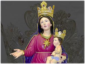 Corone realizzate per la Statua della Madonna dell'Udienza in Melissa