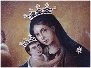Creazione dei Diademi realizzati per la tela della Madonna del Carmelo, Chiesa del Carmine in Crotone