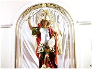 Spada realizzata per la Statua di S. Michele Arcangelo in Cuturelle di Cropani (CZ)
