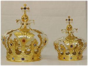 Restauro delle corone della Madonna della Pietra di Chiaravalle Centrale