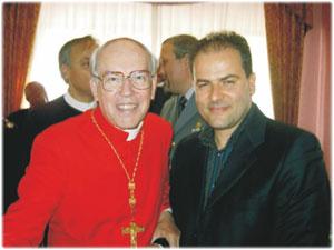Sua Em.za Cardinale Giovanbattista Re Prefetto della Congregazione dei Vescovi