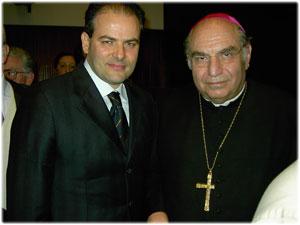 Realizzazione per il Nunzio Apostolico Sua Ecc.za Paolo Romeo
