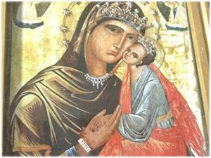 Bracciale in oro e diamanti realizzato per l'icona della Madonna Greca di Isola Capo Rizzuto