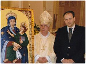 Diademi realizzati per il Quadro della Madonna di Visora in Lamezia Terme
