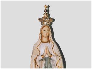 Corona realizzata per la Statua della B.V. Immacolata della Parrocchia di San Paolo in Crotone