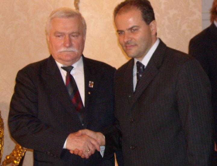 Incontro privato con il Nobel Lech Walesa