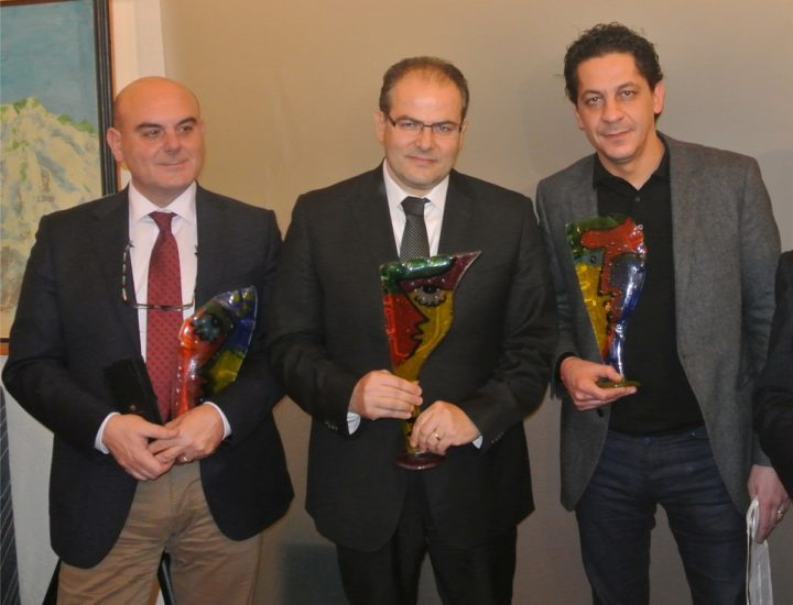 """A Michele Affidato il Premio """"Il Personaggio dell'Anno 2013"""""""