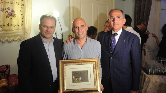 Premio Letterario Caccuri 2012 – Premiati, Bruno Giordano Guerri, Pier Giorgio Morosini e Pino Aprile