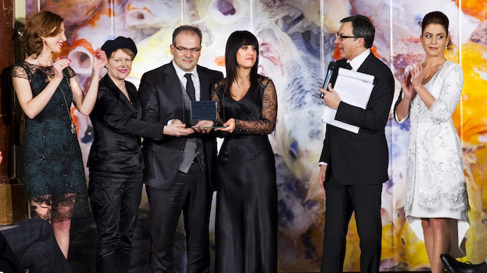 "Premio ""World of Fashion"" 2014 – Premio ad Anita Pesce, Awtif Alhai, Thomas Hodges, Azzurra De Lorenzo"