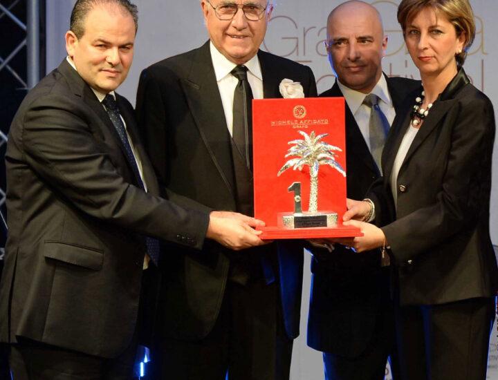 64° Festival della Canzone Italiana – 2014 <br> Premio Numeri Uno – Città di Sanremo a Pippo Baudo