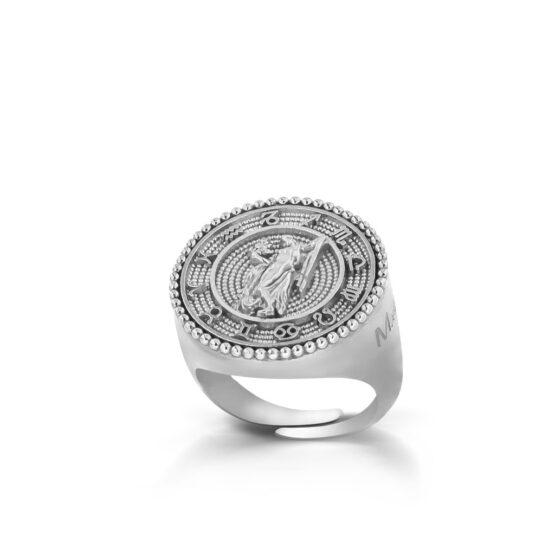 anello-con-segno-zodiacale-vergine-in-argento