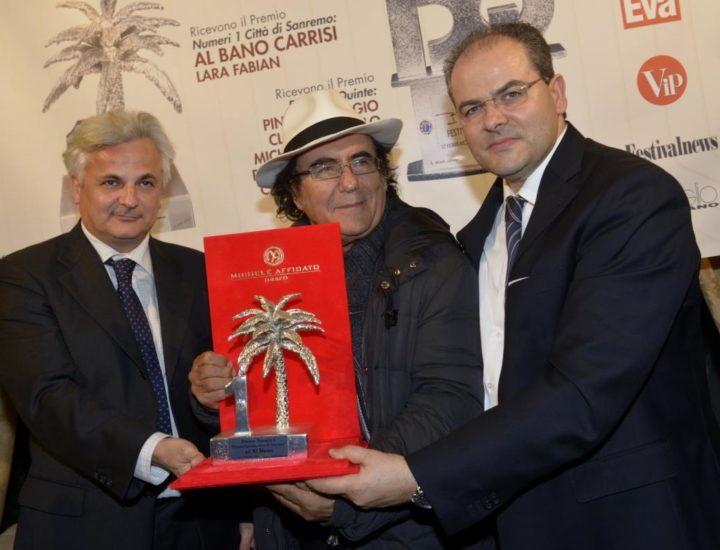 65° Festival della Canzone Italiana – 2015 <br> Premio Numeri Uno – Città di Sanremo ad Al Bano Carrisi