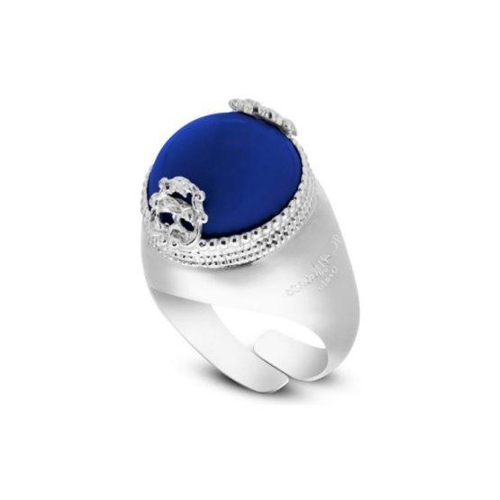 anello-con-pietra-blu-lapis-cabochon-in-argento