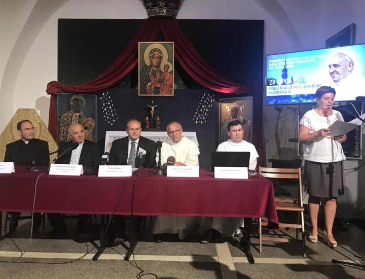 Santuario di Jasna Gora, conferenza stampa per l'incoronazione della Madonna di Czestochowa