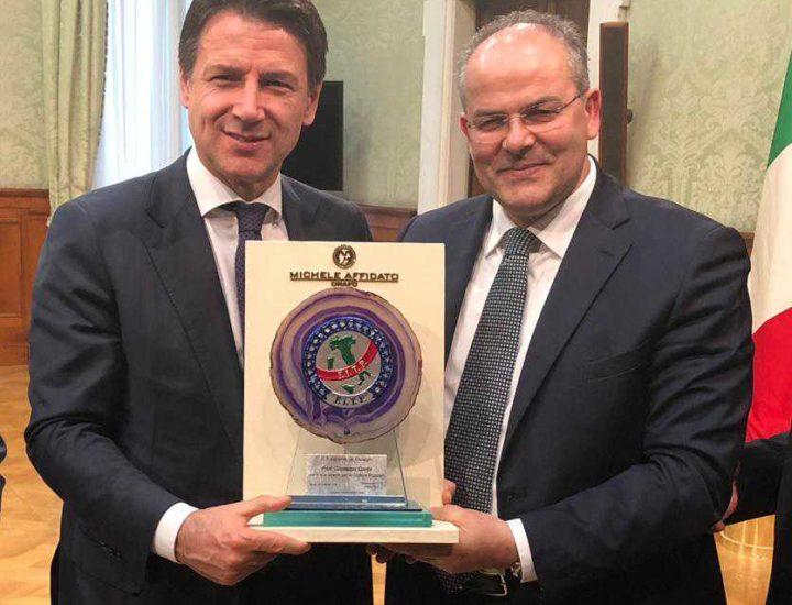 Al Premier Conte un riconoscimento della FITP