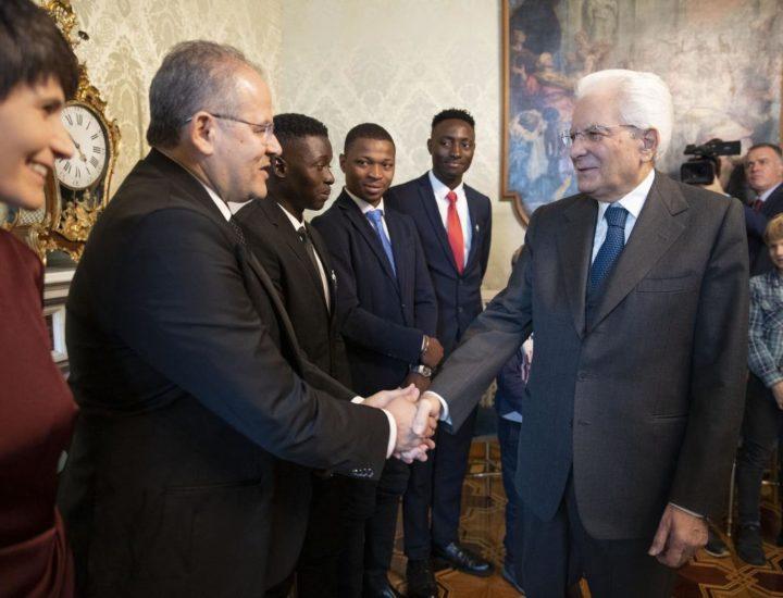 L'UNICEF Italia ricevuta dal Presidente della Repubblica Sergio Mattarella
