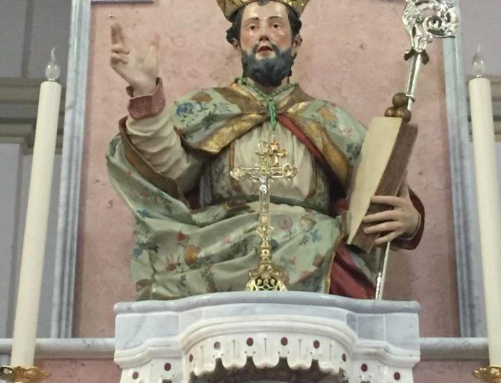 Pastorale realizzato per San Nicola Vescovo di San Nicola dell'Alto