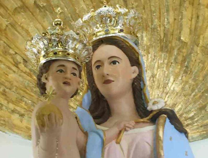 Restauro delle corone per la Madonna della Scala di Belvedere