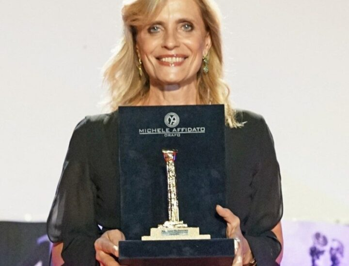 Isabella Ferrari Colonna d'Oro al Magna Graecia Film Festival
