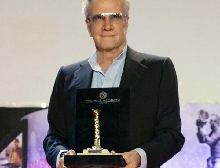 Christofer Lambert Premiato con la Colonna d'Oro