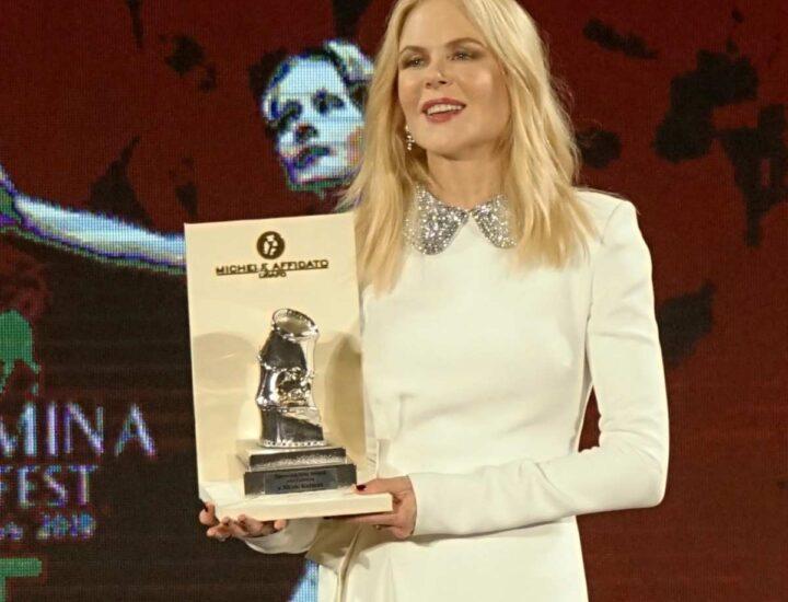 "Nicole Kidman  premiata al  ""Taormina Film Fest"""